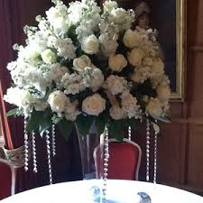 70cm vase with dome of flowers hire