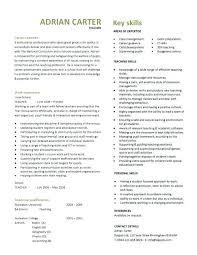 Cv Primary School Teacher Primary School Teacher Sample Cv Uk Helenamontana Info