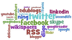 Wordle of tools to use for your PLN