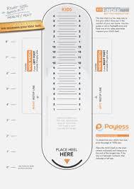 Kids Shoe Size Chart Printable Www Bedowntowndaytona Com