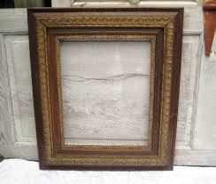 antique wood picture frames. Large Antique Wood Frame, Decorative Ornate Dark Picture Frames 0