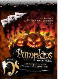 halloween sale flyer print ready halloween flyer templates printfirms blog
