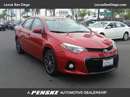 2014 Used Toyota Corolla LE at Lexus San Diego, CA, IID 17103672