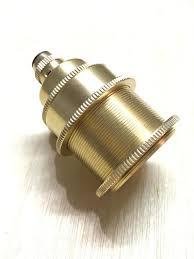 es e27 brass cord grip pendant lamp