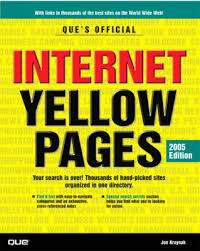 paperback que s official internet yellow pages 2005 edition book
