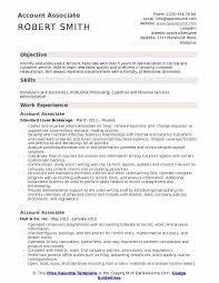 Associate Resume Account Associate Resume Samples Qwikresume