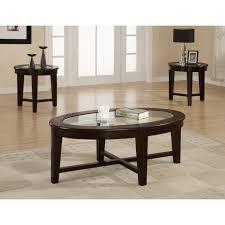 Coffee Table Set Of 3 Wildon Home R Amalga 3 Piece Coffee Table Set Reviews Wayfair