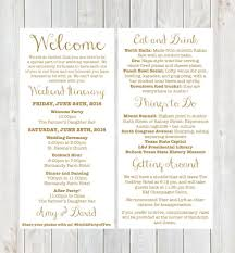 Wedding Itinerary Welcome Letter Weekend Itinerary Wedding Itinerary Gold Welcome 22