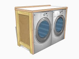 Washer Dryer Cabinet new project a washerdryer table jeff branch woodworking 7542 by uwakikaiketsu.us