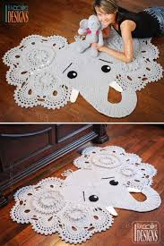 Elephant Rug Crochet Pattern New Crochet Animal Rugs Beautiful Patterns The WHOot