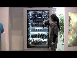 Touch Screen Vending Machines Beauteous Transparent Touchscreen Vending Machine YouTube
