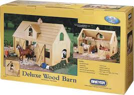 breyer traditional deluxe wood horse barn with cupola toy model 1 9 scale com