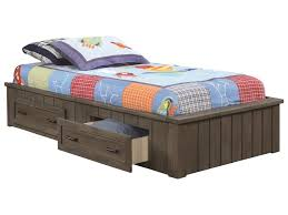 Coaster Napoleon Twin Platform Bed with Storage Drawers | Rooms for ...