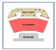 York Barbican Centre Seating Plan