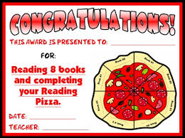 Genre Pizza Reading Sticker Charts Add Pizzazz To Reading