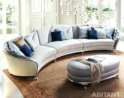 round sectional sofa bed. Curved Sectional Leather Sofa Couch Based Totally Upholstery It Makes The Greater . Round Bed