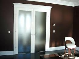 white interior french doors with frosted glass home depot
