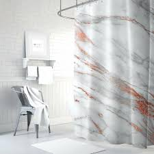 image 0 girls shower curtain natural black girl marble rose gold