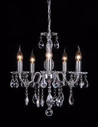 french inspired lighting. Madeleine 5 Lights French Inspired K5 Crystal Chandelier Lighting