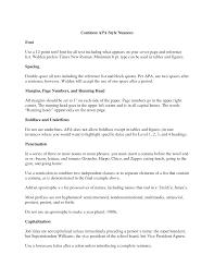 Cover Letter Example Apa Cover Letter Format Sample Cover Letter Apa