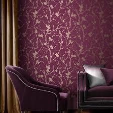 Purple Striped Wallpaper Designs Meiying Mauve Wallpaper Purple Wallpaper Graham Brown