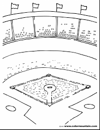 Approved Baseball Diamond Coloring Pages Field 8723 Ataquecombinado