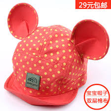 get quotations mickey mouse baby spring and summer sun hat cotton hat cotton baby boys and girls baseball