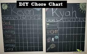 Diy Chore Chart Scratch Mommy Pronounce Skincare