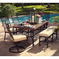outdoor dining sets with bench neutral dining room colors with additional meridian 6 piece patio neutral dining room colors with additional meridian 6 piece