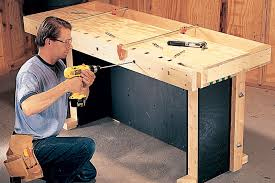 bench dog clamp. each succeeding block is spaced 1-in. apart, exactly the width of a combination square blade. these spaces become mortises for bench dog. dog clamp t