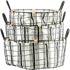 closetmaid wire basket wire basket with liner metal wire basket with black ticking stripe liner wire closetmaid wire basket