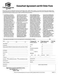 Consulting Agreement Form Images - Agreement Letter Format