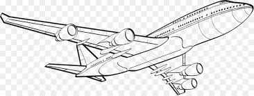 Airplane Drawing Airplane Drawing Flight Line Art Clip Art Aircraft Png Download