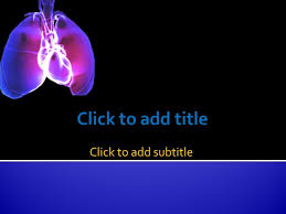 Medical Powerpoint Background Heart And Lungs Free Medical Powerpoint Template Download