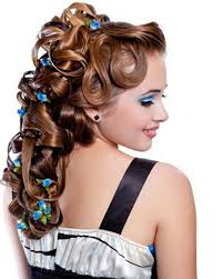 Prom Hairstyles For Thick Hair Different Prom Hairstyles With Hairpin For Medium Length Thick