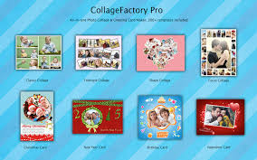 Collage Card Maker Collagefactory Pro Photo Collage Maker Greeting Cards Creator On