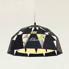 modern metal geometric pendant lighting 8888