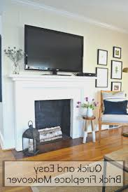 fireplace view redo brick fireplace home design ideas cool and house decorating redo brick fireplace