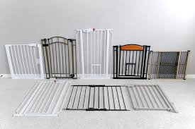 all pet gates lined up