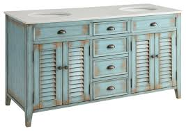 beachy style furniture. abbeville cottage double sink vanity blue 60 beachy style furniture