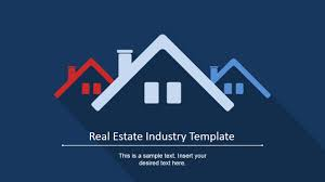 Powerpoint Real Estate Templates Real Estate Industry Powerpoint Template