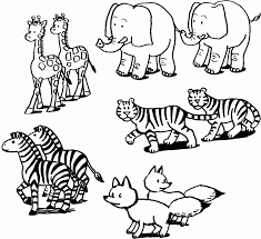 Coloring Page : Cute Animal Color Sheets Free Coloring Pages Of ...