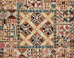 Traditional quilts   Etsy & Farmer's Market Traditional Quilt Pattern by Edyta Sitar - Laundry Basket  Quilts - #LBQ0274 - Adamdwight.com