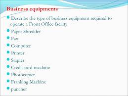 Standard Office Equipment List List Office Equipment Under Fontanacountryinn Com