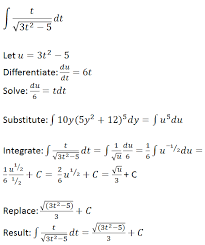 The 2 in the numerator of the second integral transforms into 1 + 1. U Substitution Examples Concept Study Com