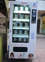 Automatic Vending Machine In India Simple Amul Launches India's First Milk ATM Rediff Business