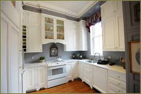 Kitchen Cabinets Red And White White Kitchen Cabinets With Grey Walls Winda 7 Furniture