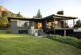 underground garage featuring cool concrete and metal house and