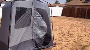 Outdoor Bathroom Tent Ozark Trails Shower Tent Youtube
