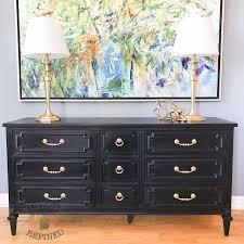 black painted furnitureThe 25 best Black painted dressers ideas on Pinterest  DIY